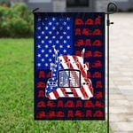 American Trucker 4th Of July Flag PSL234F
