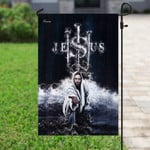 Jesus Saves Us Flag PN113F
