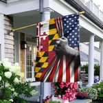 Maryland And American Flag LHA914F