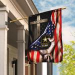 U.S. Army Christian Cross American Flag THB2007F3