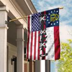 Georgia And American Flag DDH1759Fv1
