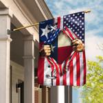 Texas American US Flag THB2282F