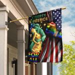 Liberty & Justice For All LGBT Flag DDH1689F