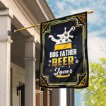 Dog Father Beer Lover Flag DBX1546F
