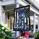 We Stand For The Flag - Back The Blue  Flag MLH1050F