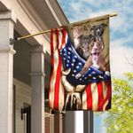 Pitbull American Flag QNK303F