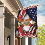Florida And American Flag MLH997F