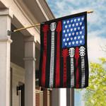 Guitar American Flag QNN115F