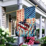 Turtle American Flag Flag PN283F