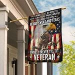 Forever The Title Veteran Flag PS287F