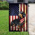 Dachshund American Flag PSL213F