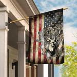 Deer America US Flag THN2052F1