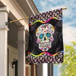 Sugar Skull Mandala Flag DDH1705F