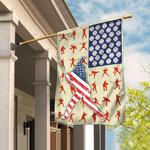 Baseball American US Flag THN2213F