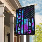 Camping Happy Campers Flag QNN81F