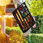 Happy Halloween. Dachshund Flag THH2546F