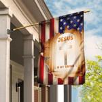 Jesus Is My Savior Christian Cross Flag DBX1607F