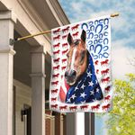 Horse Celebrate Fourth Of July Independence Day Flag DBX1620F