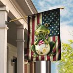 Frog American Flag DDH1699F