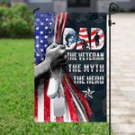 Daddy The Hero Veteran Flag PSL278F