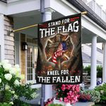 Firefighter Stand For The Flag Kneel For The Fallen Flag TRL119F