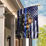 Rottweiler. The Thin Blue Line Flag THB2265F