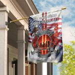 343 Firefighter Never Forget 911 Flag PSL322F
