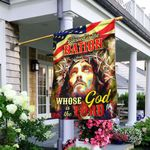 Blessed Is The Nation Whose God Is The Lord Flag QNK471F