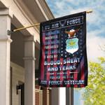 Proud U.S Air Force Veteran Flag PSL266Fv1