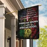 American Grown With African Roots Flag DDH1683F