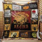 Teacher Halloween Blanket AU1402 90O41