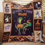 Unicorn Halloween Blanket AU1502 95O35