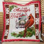 Cardinal Christmas Blanket SEP1701 82O43