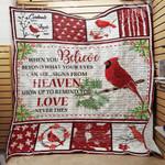 Cardinal Bird Blanket JL1101 83O47