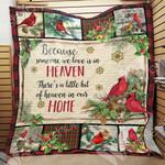 Cardinal Christmas Blanket OCT0401 97O34