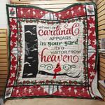 Cardinal Bird Blanket JL1302 85O47