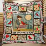 Cardinal Bird Blanket JL1001 90O44