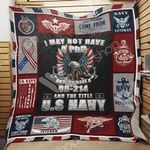 Navy Veteran Blanket MY3001 87O42