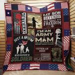 Veteran Mom M1803 83O34 Blanket