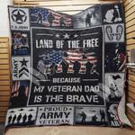 Veteran Dad Blanket JN1303 85O35