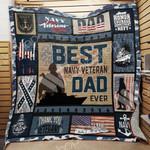 Navy Veteran Dad Blanket JN0403 83O42