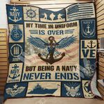Navy Veteran Blanket JN0603 85O35