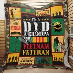Veteran Dad Blanket MY1001 87O42