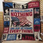 Veteran Blanket JN0701 83O44