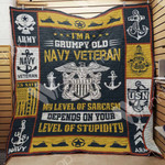 Navy Veteran Blanket JN1401 81O35