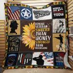 Veteran Female Sunflower Blanket JN0602 83O31
