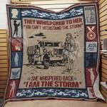 Female Veteran Blanket JN1301 90O44
