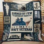 Navy Veteran Blanket JN0701 85O41
