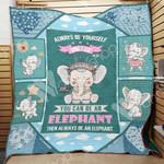 Elephant F2705 84O35 Blanket