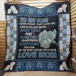 Elephant Mom M2602 83O34 Blanket